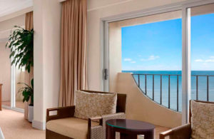 Вид из окна отеля Hilton Guam Resort